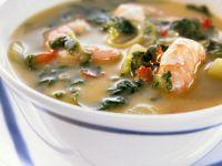 Creole Style Shrimp Soup