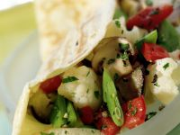 Crepes Filled with Vegetables recipe