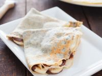 Crepes with Banana and Chocolate recipe