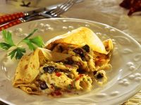 Crepes with Cabbage Filling recipe