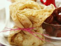 Crepes with Cherry Filling recipe