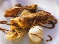Crepes with Ice Cream recipe