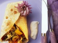 Crepes with Mediterranean Filling recipe
