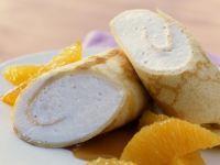 Crêpes with Orange Cream and Orange Segments recipe
