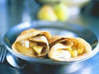 Crepes with Pear Filling recipe