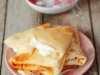 Crepes with Vanilla Cream recipe