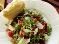 Cress and Broad Bean Salad recipe