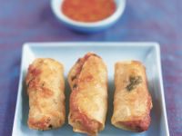 Cripsy Asian Wrappers recipe