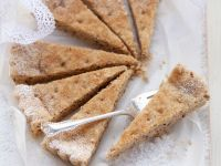 Crisp Pecan Shortbread Slices recipe
