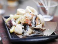 Crisp Seafood Platter recipe