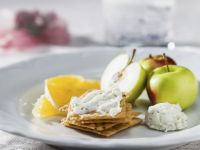 Crispbread with Soft Cheese recipe