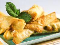Crispy Cheese Rolls recipe