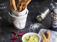 Crispy Chicken Grissini recipe