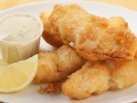 Crispy Fried Haddock Slices recipe