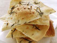 Crispy Garlic Flatbread recipe