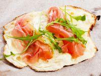 Crispy Ham Flatbread recipe