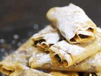 Crispy Pastry Rolls with Sweet Fig Filling recipe
