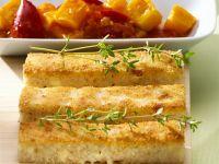 Crispy Polenta Slices with Pumpkin Ratatouille recipe