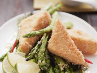 Crispy Soya Triangles recipe