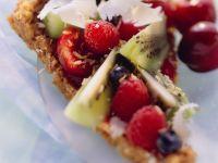 Crispy Tart with Fresh Fruit