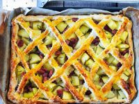 Criss-cross Pork Pie recipe