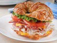 Croissant Club Sandwich recipe