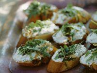 Crostini Caprini recipe
