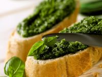 Crostini with Pesto recipe