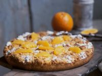 Crumb Cake with Oranges recipe