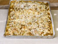 Crumble Cake with Mirabelle Plums recipe