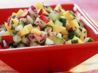 Crunchy Fruit and Vegetable Salsa recipe