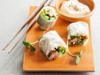 Crunchy Nems with Dip recipe