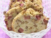 Crunchy Rhubarb Loaf recipe