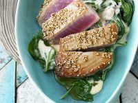 Crusted Fish Steaks recipe