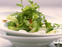 Cucumber and Arugula Salad with Bocconcini recipe