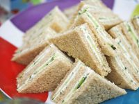 Cucumber Finger Sandwiches recipe