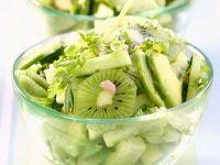 Cucumber, Kiwi and Avocado Salad recipe