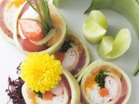 Seafood and Cucumber Sushi recipe