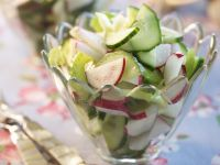 Cucumber Salad with Radish recipe