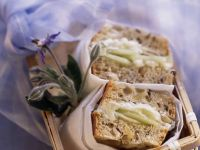 Cucumber Sandwich with Goat Cheese recipe