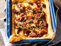Cured Pork and Thyme Tartlet recipe