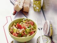 Cured Pork and White Bean Salad recipe