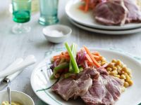 Cured Pork with Vegetables recipe