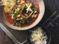 Curly Kale Broth recipe