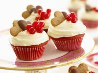 Currant Red Velvet Cupcakes recipe