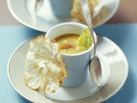 Curried Celery Root Soup with Apple recipe