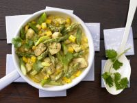 Curried Chicken and Asparagus recipe