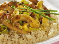 Curried Pork with Couscous