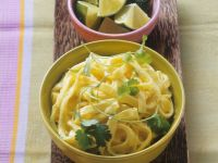 Curried Ribbon Noodles recipe