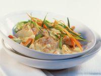 Curried Turkey in Cream Sauce recipe